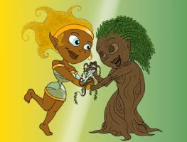 Earth Ladies by Shaed-Knightwing