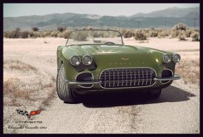 Chevrolet Corvette 1961 - dESERT by AnalyzerCro
