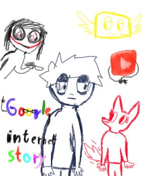 Internet story WIP (read desc.!) by Terfoxie