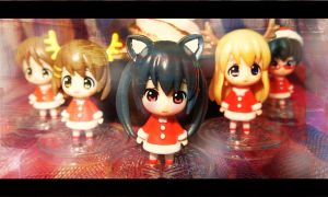 Merry Christmas says Azunyan by Sana--K