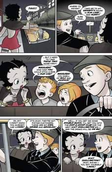 Betty Boop Dynamite Comic #1 (Page 11) by Rapper1996