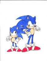 Sonic Generations by luiginotafraid