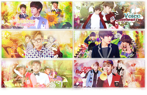 B.A.P Sign Pack by MiHVVN