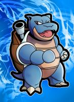 Blastoise Fan art by Huntermanx
