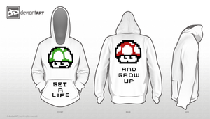 get a life and grow up by bIG-O666