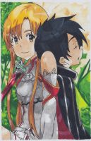 Sword Art Online by ajscorching