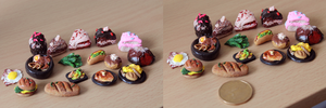Mini Food by Tiffany-Tees