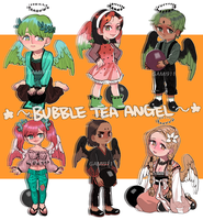 Bubble Tea Angel Adoptable [1/6 OPEN][SALE] by gami911