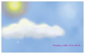 Happy Little Clouds II by anisia-gypsy