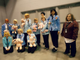 Ouran Hosts~! by PWheartgal