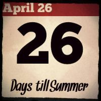 26 Days til' Summer by MCSarts