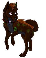 Demon dhole by Kiterrax