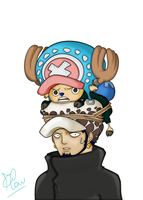 Law and Chopper by Fla29