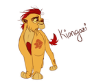 Kiongozi the Lion Guard by Wolf-Chalk