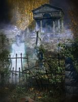 Oak Hill Cemetery by OrestesGraphics
