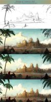 Process of Journey's End by Industrial-Forest