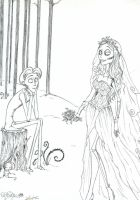 Just married by MarineElphie