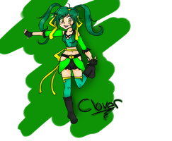 Clover: Teen Titans OC by Yuiko0Chan