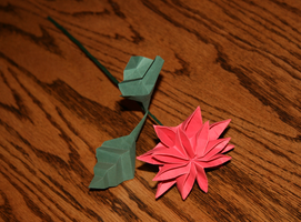 Origami Flower by MuggleHater