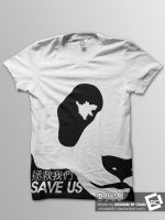 Save The Pandas T-Shirt by Chadski51