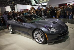 Detroit 2013: Chevrolet Corvette Stingray by randomlurker