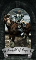 Skyrim Tarot - Knight of Cups by Whisper292