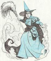 WICKED WITCH by Jerome-K-Moore