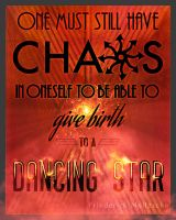 Chaos Poster by Maurautius