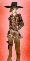 Rattlesnake  fashion 1 by Selinelle