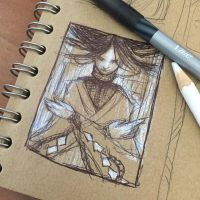 Thumbnail Sketch - The Rope Maiden by AngelaSasser