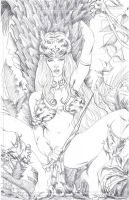 Prymal 1 Cover Pencils by ericalannelson