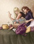 Kitty Pryde and Magik hangin' by ComfortLove