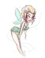 Tinkerbell Sketch Idea by NoFlutter