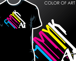 T-Shirt Contest - Color of Art by CTCorbett