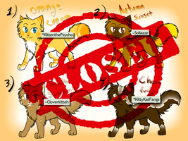 CLOSED Mini-Adopt auction -Orange- by Spottedfire-cat