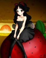 Strawberry Bee by potemagico