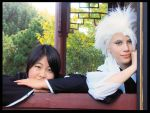 Bleach - Hitsugaya Cosplay - For once we are happy by Neokillerqc