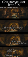 A Middle-Earth Christmas List [Part 2] by Sapphire-Arkenstone
