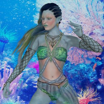 Aquatic Witch by Erevia