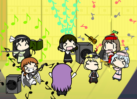 Most Epic Orchestra of Awesomeness Ever by Kigurou-Enkou