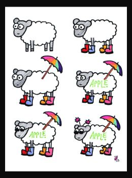 How to dress a sheep by Spikeygal