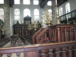 the Spanish Portuguese Synagogue by Hermione75