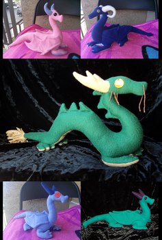 PLUSH Dragons for Sale by Xeybhls