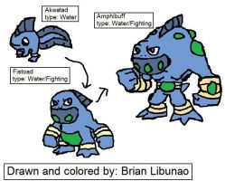 Fakemon: Water Starter by Brian12