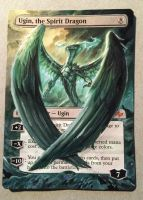 Ugin the Spirit Dragon, Alt Card Art by XenFeather