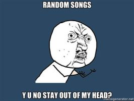 Y U NO random songs by chiichiimouse