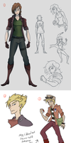 Doodle Dump 11/13-12/13 by AndrewMartinD