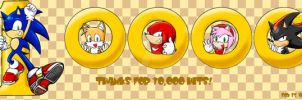10000 HIT, SONIC AND FRIENDS by ihearrrtme
