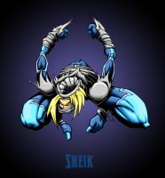 sheik with bg by pnutink