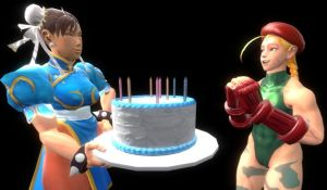 A cake for Cammy by majormario